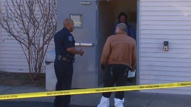 WEB EXTRA: Tulsa Police Investigate Shooting Death At Super 8 Motel