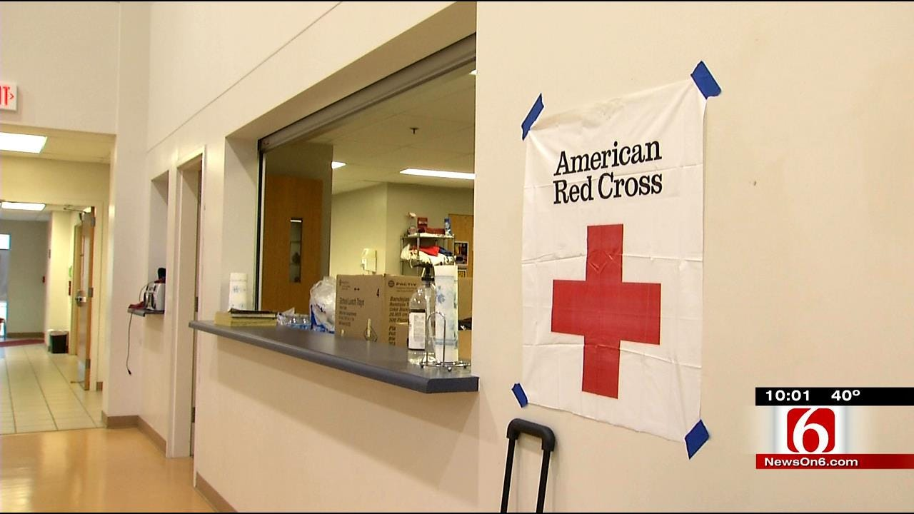 Sapulpa Fire Victims Turn To Red Cross For Assistance