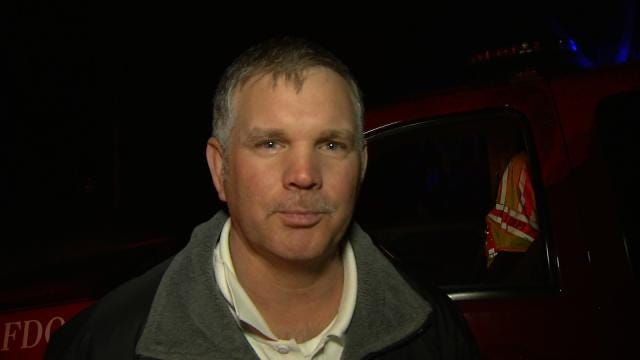 WEB EXTRA: Sapulpa Fire Battalion Chief D.J. Keizor Talks About The Fire