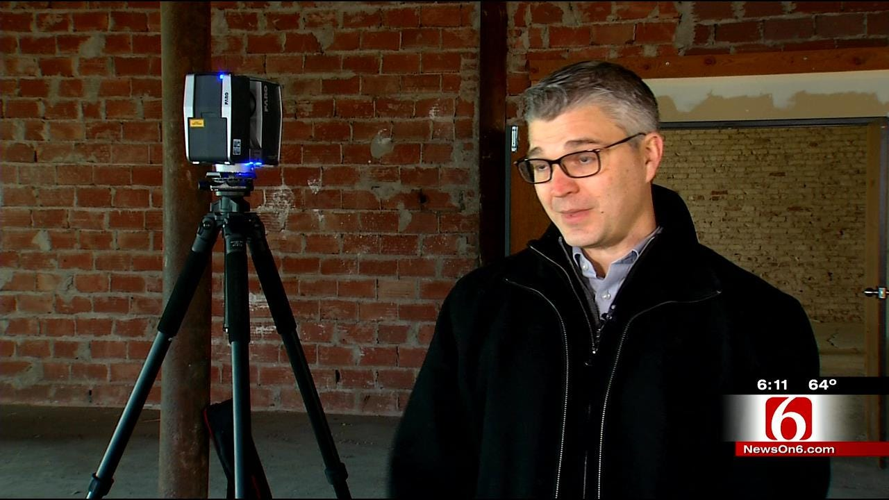 Architect Using 3D Tech To Preserve, Rebuild Historic Tulsa