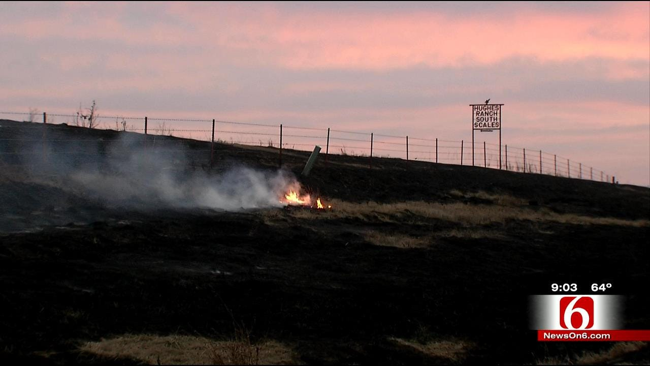 Osage County Fire Burns 4,000 Acres