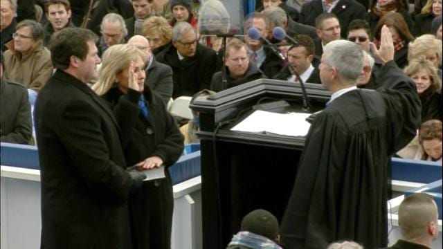 WEB EXTRA: Governor Mary Fallin Takes Oath Of Office