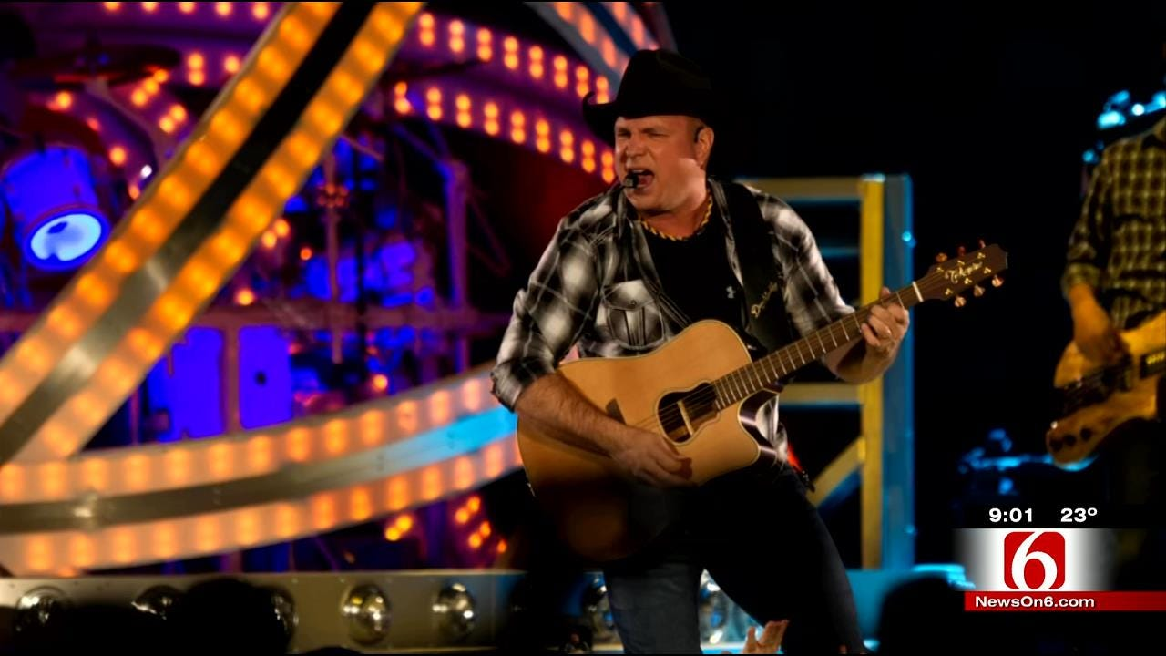Garth, Fans Share Excitement Over Tulsa Concerts