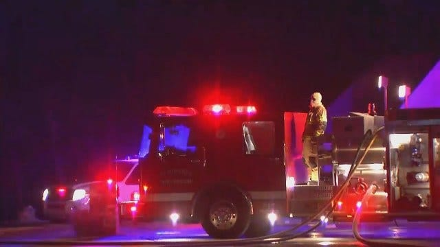 WEB EXTRA: Video Of Verdigris Home Damaged By Fire