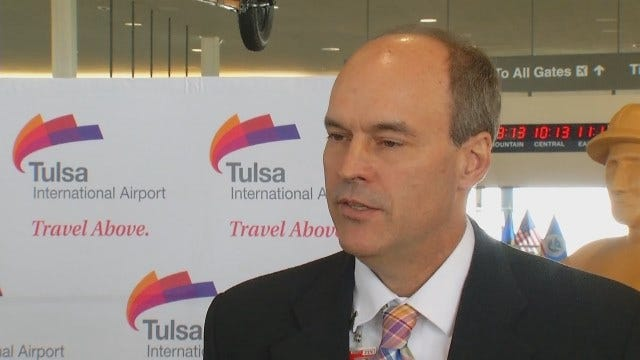 WEB EXTRA: Tulsa International Airport Director Jeff Mulder Talks About 'Fly Tulsa' Campaign