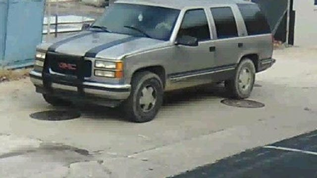 WEB EXTRA: Surveillance Video Released By Tulsa Police Of Trailer Theft
