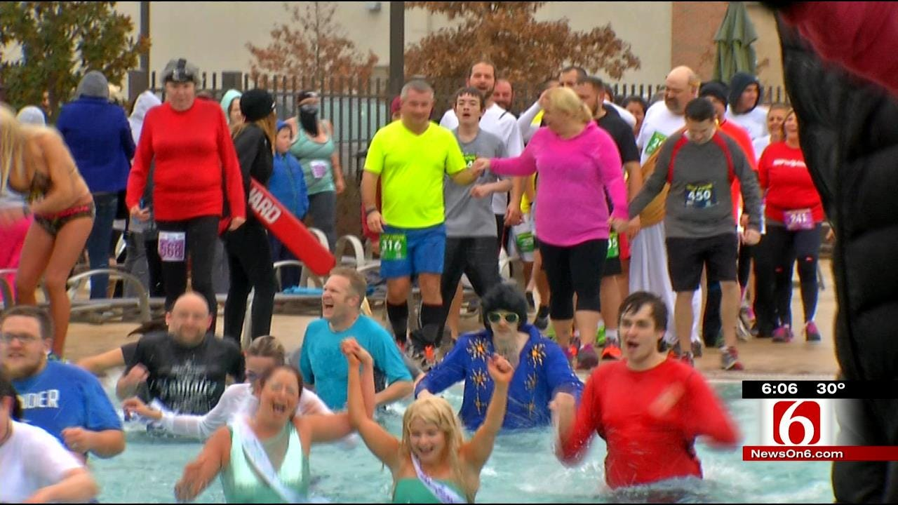 Tulsans Plunge Into 2015 With Cold Splash