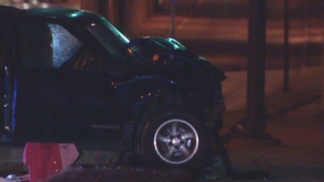 WEB EXTRA: Fatal Midtown Tulsa Wreck