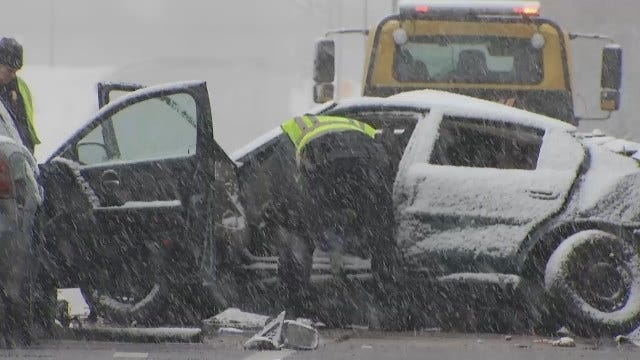 WEB EXTRA: Speed, Snow Play Role In BA Expressway Wreck