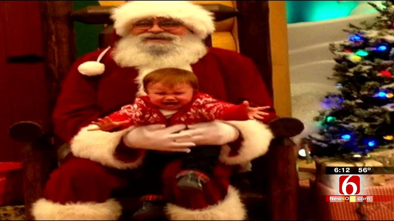 Christmas Pictures And Stories: Kids Afraid Of Santa