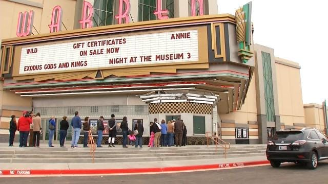 WEB EXTRA: Video Inside And Outside Of The New Broken Arrow Warren Theatres