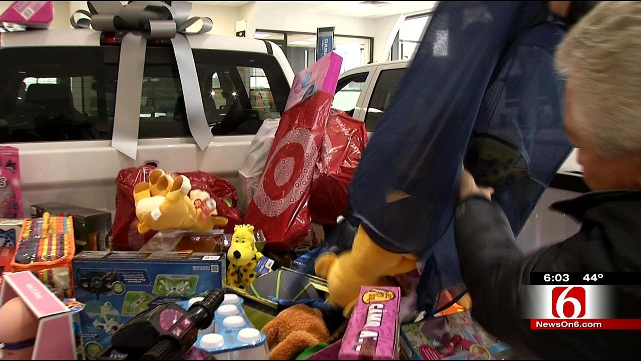 Friendly Competition Pays Off In Jim Glover Toy Drive