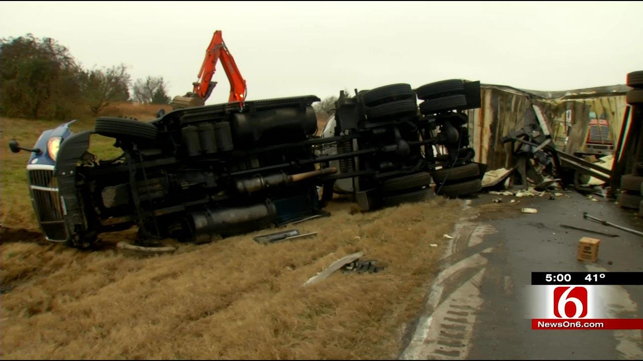 OHP: Crash Closing Oklahoma Highway Likely Due To Drinking, Driving