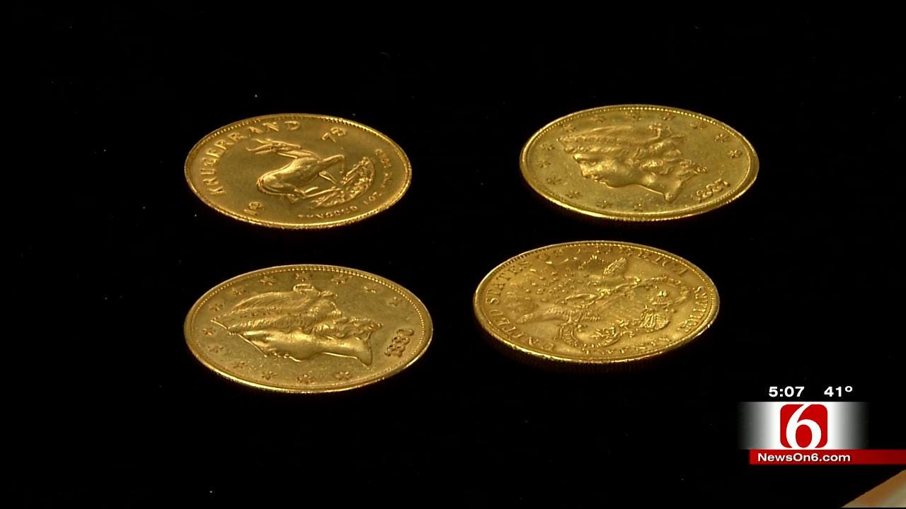 Four Gold Coins Found In Tulsa Salvation Army Red Kettles