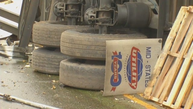 WEB EXTRA: Video From Scene Of Truck Crash In Craig County