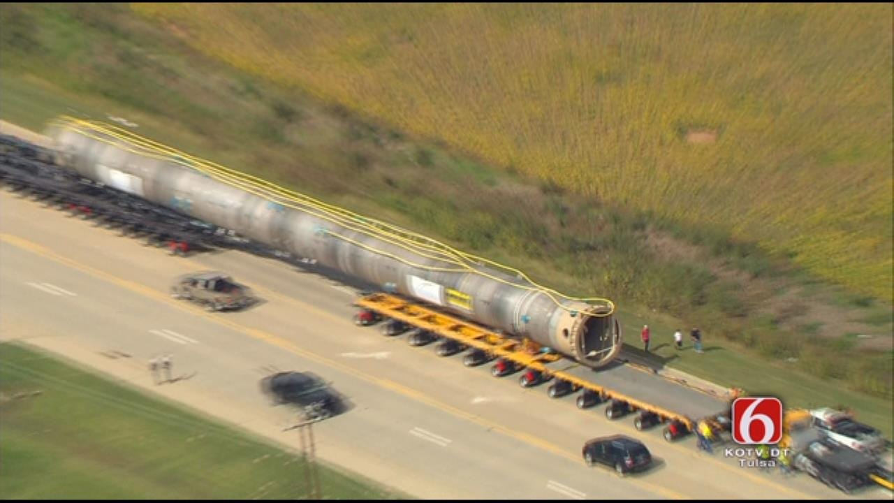 WEB EXTRA: Osage SkyNews 6 HD Flies Over Oversized Load