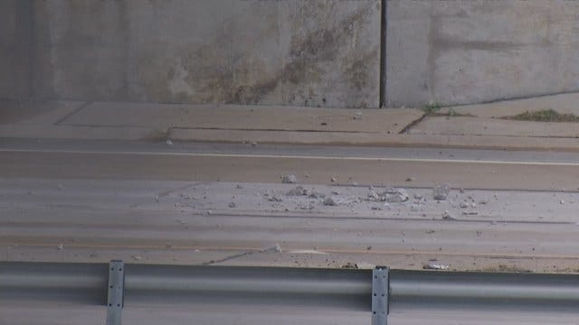 Collinsville Woman In Hospital After Car Hit By Falling Concrete