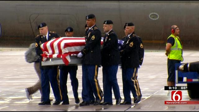 Body Of Kansas Soldier Who Died In 1952 Recieves Proper Burial