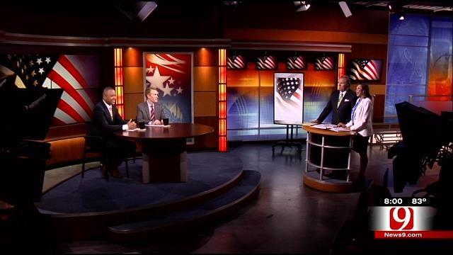 U.S. Senate Debate Part 1