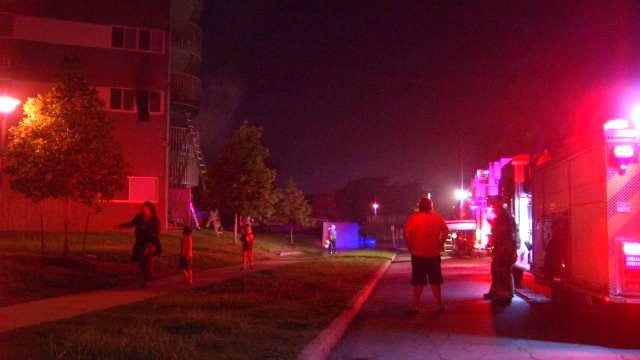 WEB EXTRA: Video From Scene Of Mansion House Apartments Fire