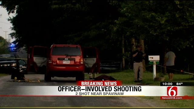 OSBI Investigating After Officer Shoots Man Who Wounded Woman