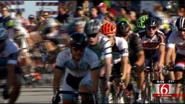 Cyclists Continue To Test Endurance At Tulsa Tough