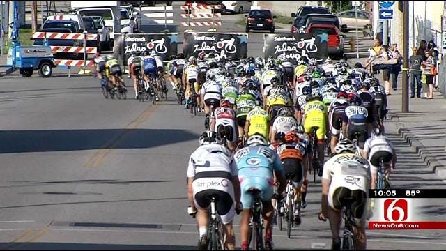 Eager Cyclists Gear Up For Tulsa Tough