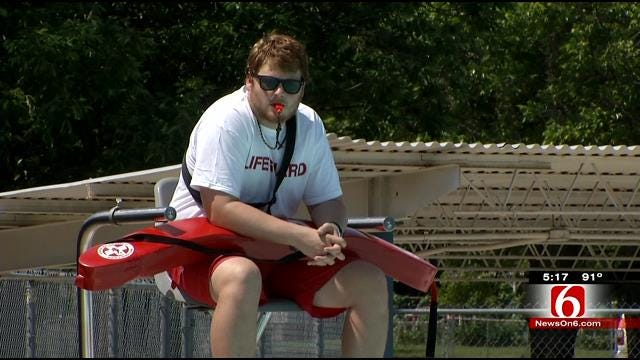 Tulsa Pools Open For Summer; Lifeguards Still Needed