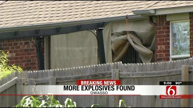 Bomb Squad Detonates Another Device Found At Owasso Home