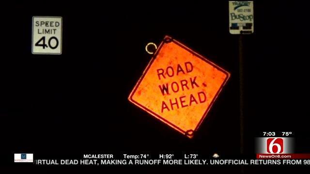 Harvard Repaving Project Confusing Some Tulsa Drivers