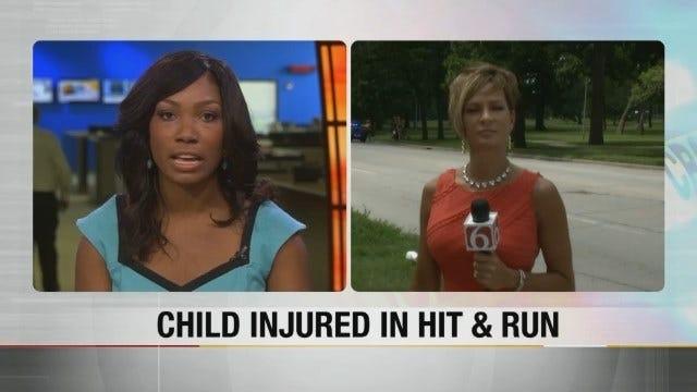 Tulsa Police Investigate Hit And Run Involving Child