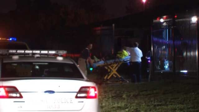 WEB EXTRA: Video From Scene Of Shooting At Sandy Park Apartments