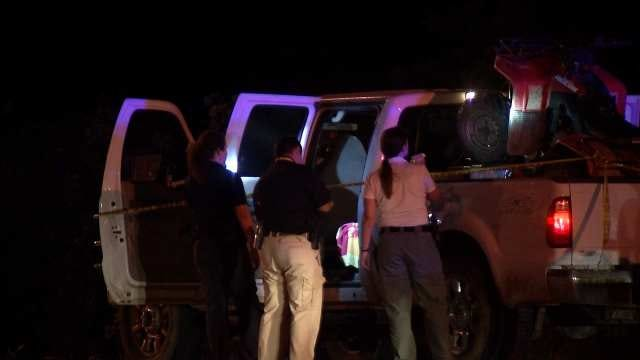 WEB EXTRA: Video From Scene Of Shooting On Gilcrease Expressway At Peoria