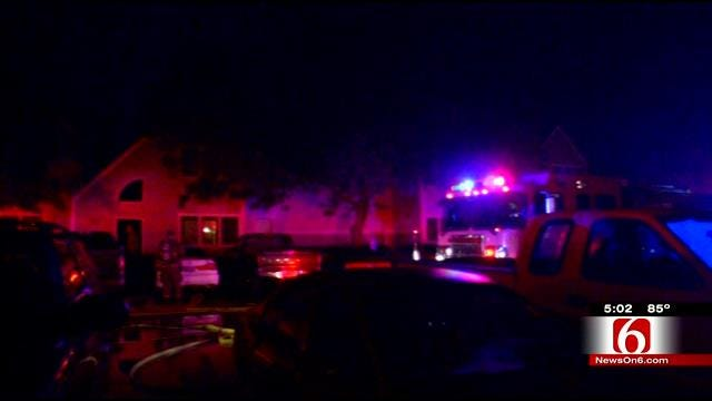 Fire Damages Several East Tulsa Apartments