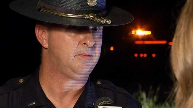 WEB EXTRA: Wagoner County Police Lt. Brad Harding Talks About Plane Crash