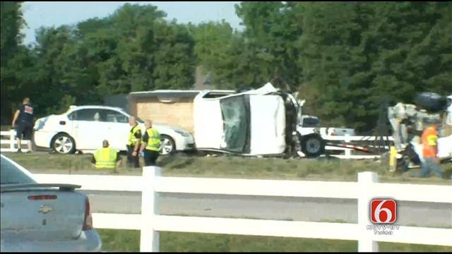 WEB EXTRA: Scenes From Highway 169 Wreck