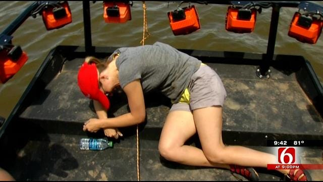 News On 6 Anchors, Meteorologist Take Spoonbill Fishing Adventure