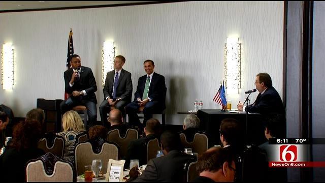 Republican Senate Candidates Speak In Tulsa