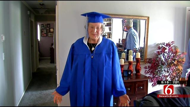 After 63-Year Delay, Sapulpa Grandma Graduates High School