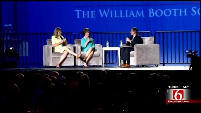 Former First Lady, Daughter Speak At Tulsa Salvation Army Fundraiser
