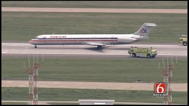 WEB EXTRA: American Airlines Flight Makes Emergency Landing