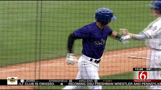 Drillers Take Doubleheader