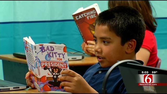 Tulsa School Credits Parents, Hard Work For Above Average Test Scores