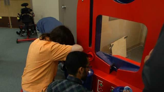 WEB EXTRA: Video Of TU Engineering Students Putting The 'Space Invader' Together