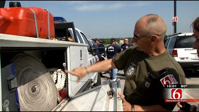 Rogers County Firefighters To Help With Woodward Fire
