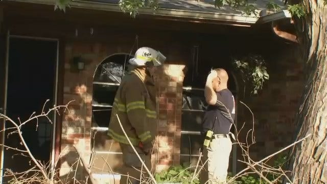 WEB EXTRA: Video From Scene Of Tulsa House Fire On South 126th East Avenue