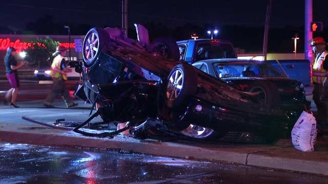 WEB EXTRA: Video From Scene Of Crash At Sheridan And 71st Street
