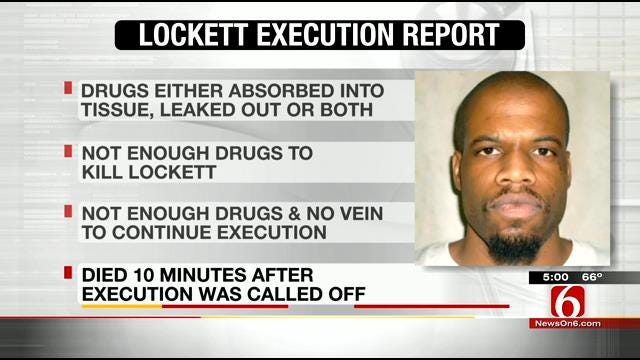 Oklahoma Inmate Tasered, Had Self-Inflicted Wounds Day Of Execution, Docs Say