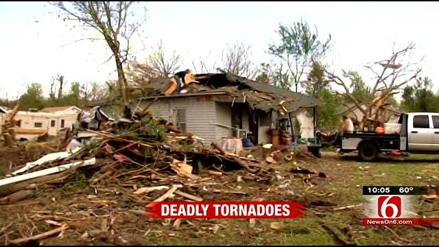 Neighbors Helping Neighbors To Dig Out From Quapaw Tornado