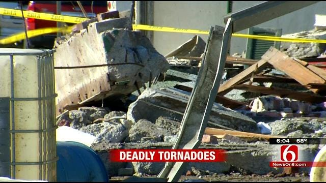 Officials Say No Tornado Warning Issued In Quapaw